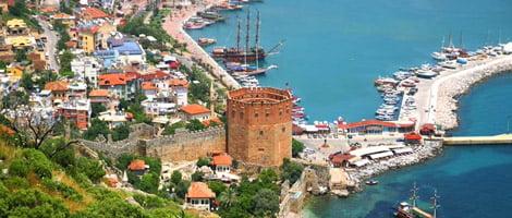 سفر تفریجی و توریسی و دیدن از مکان های گردشگری ترکیه