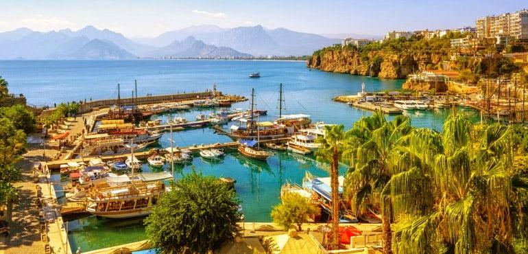 جاذبه های گردشگری و توریستی و جا های دیدنی در ترکیه