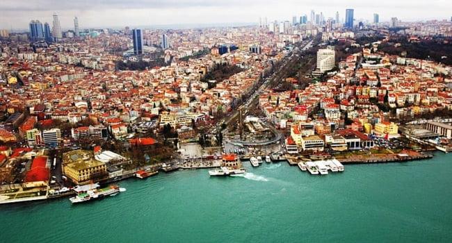 منطقه های عالی و زیبا برای زندگی در استانبول